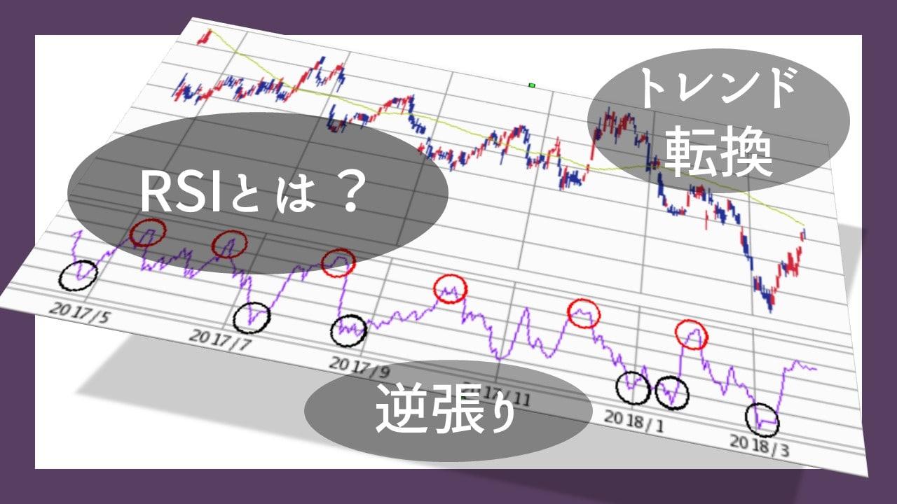 株、FXの短期売買で威力を発揮するチャート RSIとは
